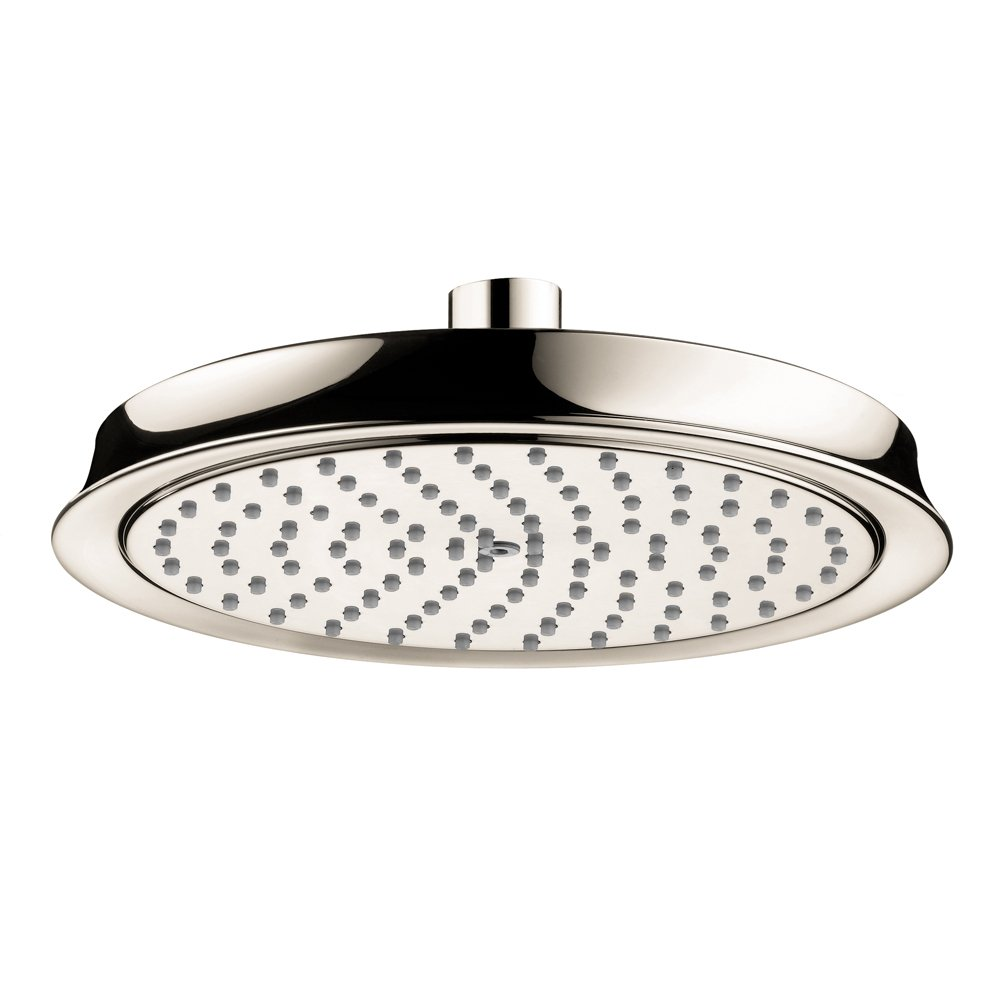 Hansgrohe 28421831 Raindance C 180 1-Jet Showerhead, Polished Nickel by Hansgrohe B00334HWH4  ニッケル