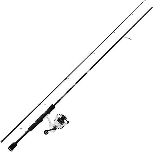 KastKing Crixus Fishing Rod and Reel Combo, Spinning and Baitcasting Combo, IM6 Graphite Blank Rods,SuperPolymer Handle