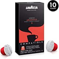 Lavazza Armonico Espresso Nespresso Compatible Capsules, 10 Count
