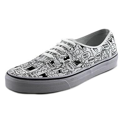 3a2d7b89fb Vans Authentic Truth Kevin Lyons True White Black Men s Sneakers (6 Men s