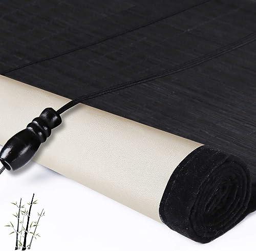 Blackout Bamboo Window Shades Blind