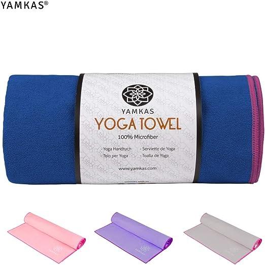 Yamkas Toalla Yoga Antideslizante | 183 x 61cm | Toallas Pilates ...
