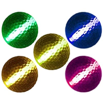 blinkee Glow Stick Golf Ball Assorted Colors: Toys & Games