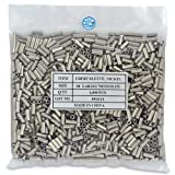 Surflon Size 4-1000-Piece Picture Wire Crimping Sleeves, Bright