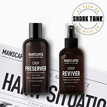 Manscaped Hygiene Bundle, Men's Groin Protection, Includes: Crop Preserver  Ball Deodorant with