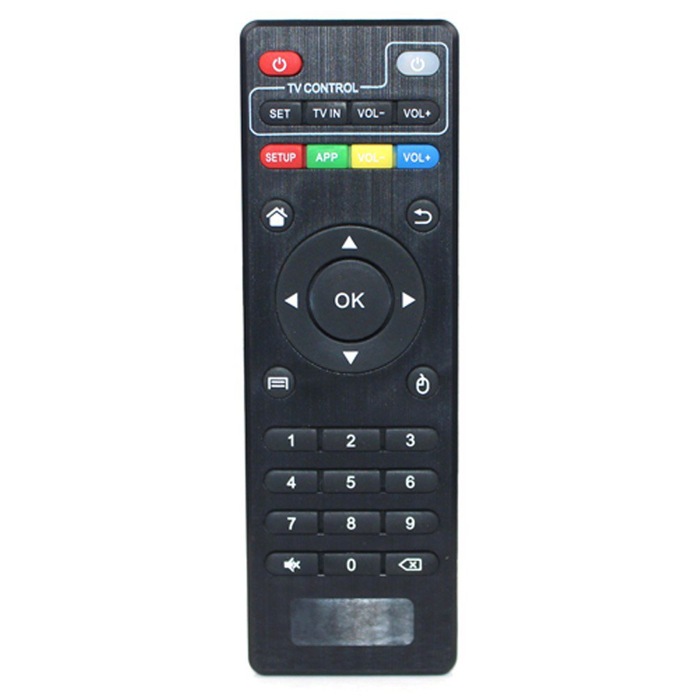Amgur Replacement Remote Control Controller for MX2 MXQ M8 M8S KODI Android TV Box Remote