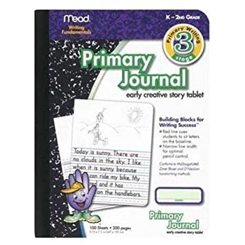 Amazon.com: Mead MEA09956 Primary Journal K-2nd Grade: Office Products