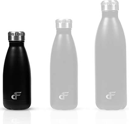 Sport Bottle Water Flask Thermos Steel Double Wall Vacuum Insulated Coke Cup CS