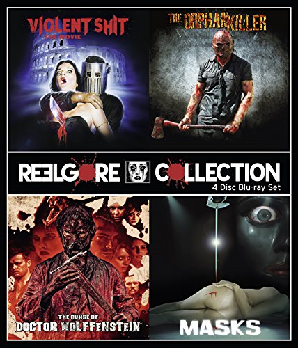 ReelGore Collection: 4 Disc Blu-ray Box Set (Violent Shit - The Movie, Masks, The Curse of Doctor Wolffenstein, The Orphan Killer)