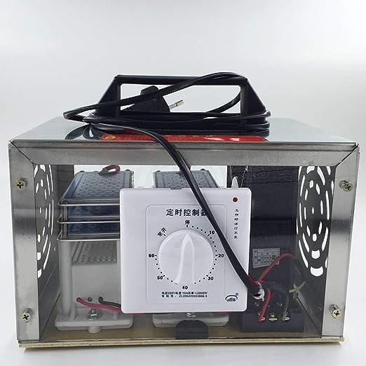 QWERTOUY 30 g/h 220V O3 generador de ozono ozonizador purificador de Aire de la máquina: Amazon.es: Hogar