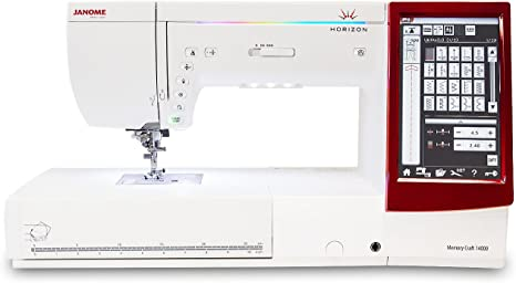 Janome 9850 Sewing AND Embroidery Machine