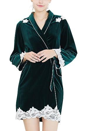 2aa8ecbc3f YAOMEI Women s Bathrobe Dressing Gown Kimono