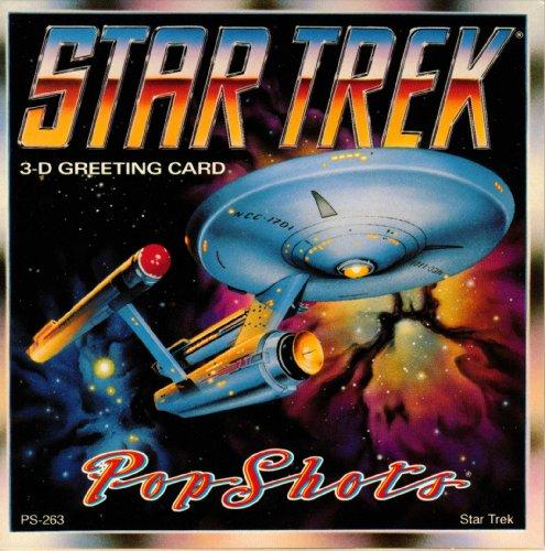 POP SHOTS- Star Trek the Original Series 3D Greeting -