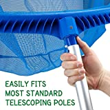 SplashTech Heavy Duty Pool Leaf Rake Head - Deep