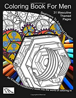 Amazon Com Men Coloring Book Coloring Book Gift For Men Dads