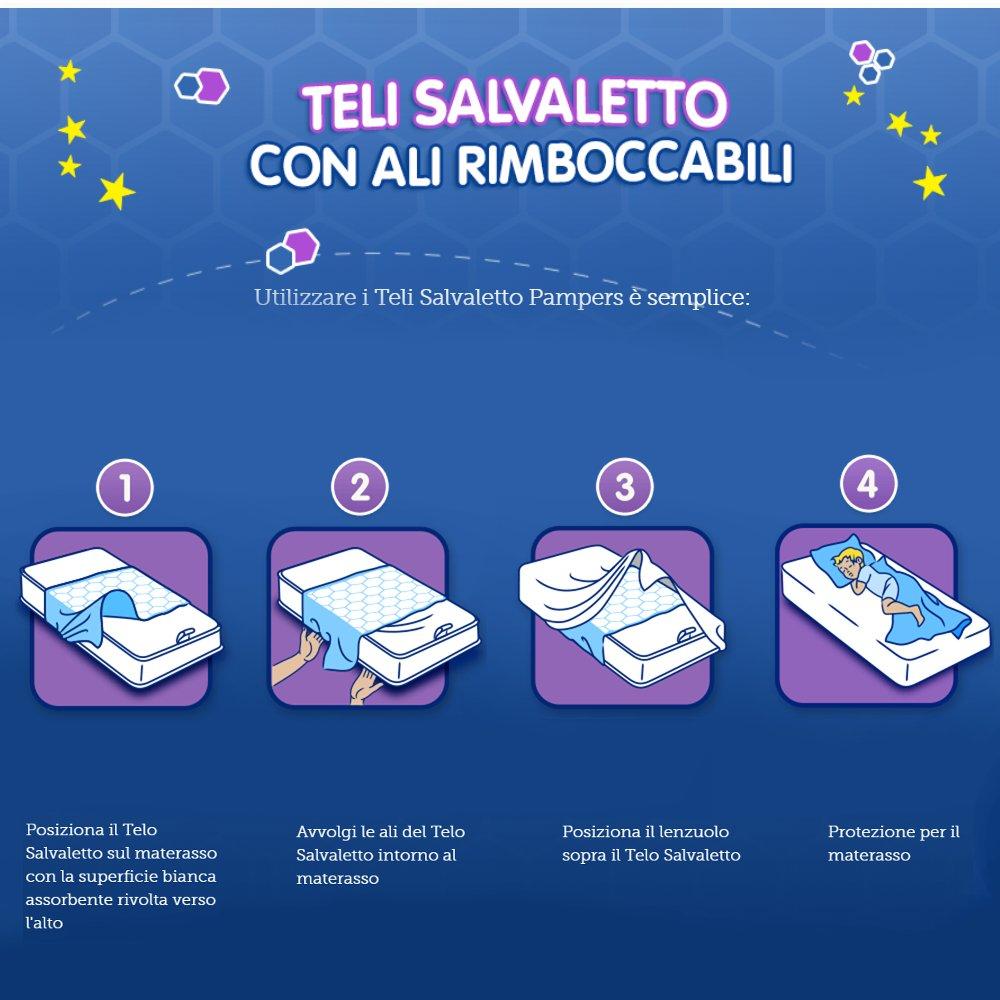 Pampers toallas protectoras de colchón - 7 unidades: Amazon.es: Salud y cuidado personal