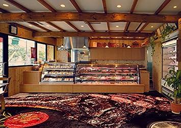 3d Vinyl Fußboden ~ D belag dekor boden fleisch fleischgeschaft fleischhackgeschaft