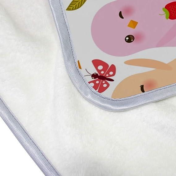 Amazon.com: FannyMT - Manta de microfibra para bebé, ligera ...
