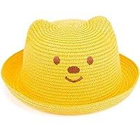 Wacemak1r - Gorro de Paja para niños, diseño de Oso Amarillo Amarillo