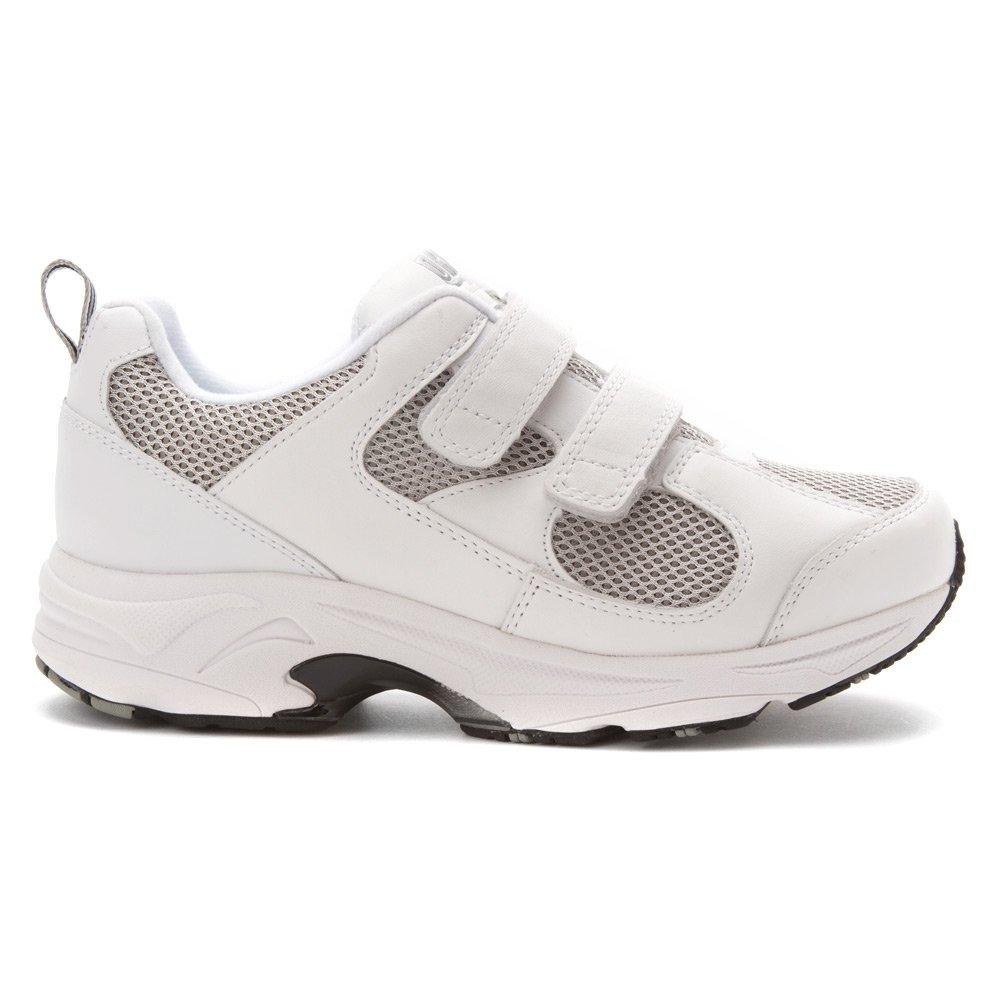 Drew Shoe Women's Flash II V Sneakers B00ABYR7X8 11.5 W US|White / Grey