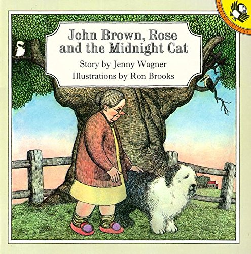 John Brown, Rose And the Midnight Cat Picture Puffin S ...