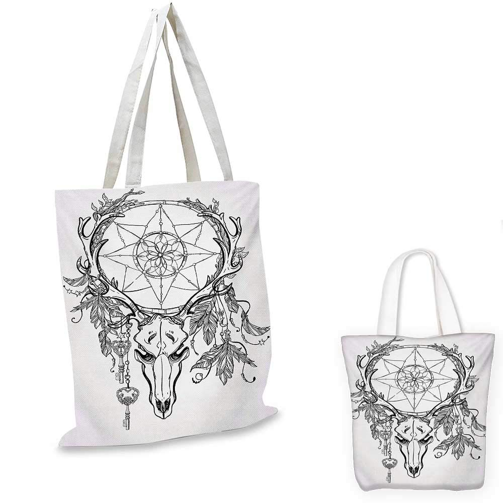 750c97fea937 Amazon.com: Tattoo canvas messenger bag Wise Old and Brave Viking ...