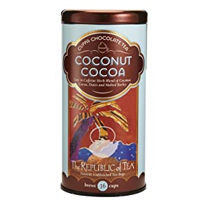 The Republic of Tea, Coconut Cocoa Herb Tea, 36-Count