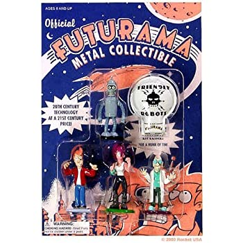 Futurama Metal Collectible Figure Set Series 1 by Rocket USA