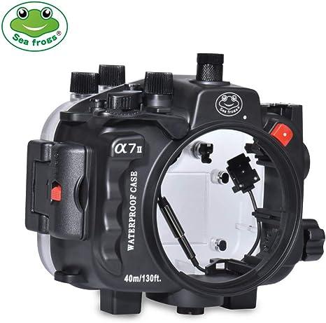 Carcasa para cámara submarina Sony A7II/A7R II/A7S II de Nueva ...