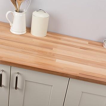 Amazon.de: Holz massiv Buche Holz Design Hohe Qualität Block Küche ...