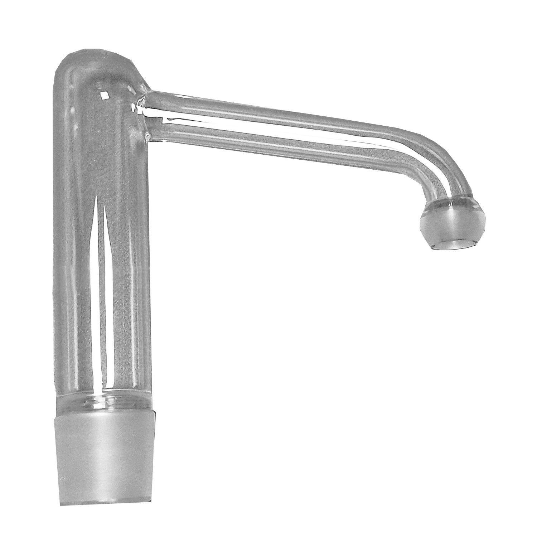 Kit per distillazione in corrente di vapore alambicchi da laboratorio per acqua e oli essenziali con fornello e condensatore 2 l
