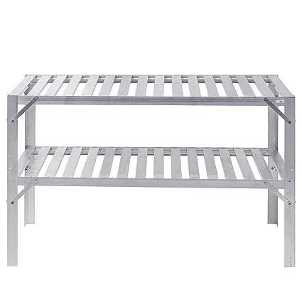 Amazon.com: Abbeydh - Mesa de trabajo de aluminio para ...