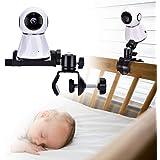 Soporte para Monitor de cámara para bebé, Soporte Giratorio Ajustable de 360 Grados, Mantenga a su bebé a la Vista…