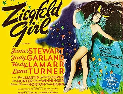 Amazon.com: Ziegfeld Girl - 1941 - Movie Poster: Posters & Prints