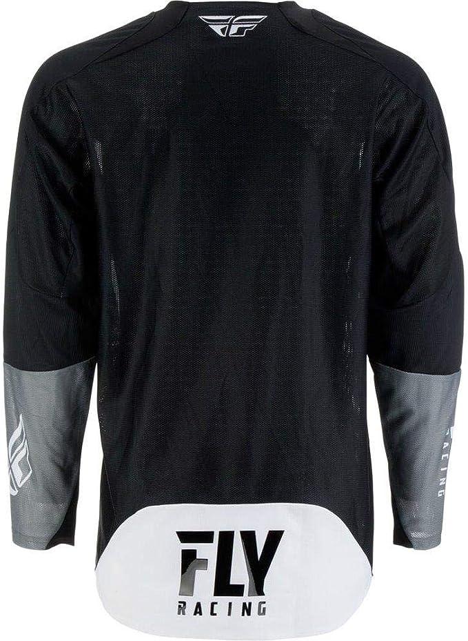 Fly Racing 2019 Evolution DST Jersey X-Small HI-VIZ//Black//White