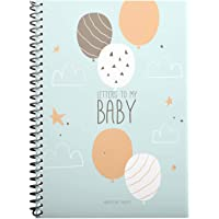 Letters to My Baby! Memory Baby Books for Son or Daughter, Newborn Grow Milestone, Babys First Year Book, New Mom…
