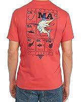 Columbia Men's PFG Elements Marlin Short Sleeve Graphic Tee T-Shirt