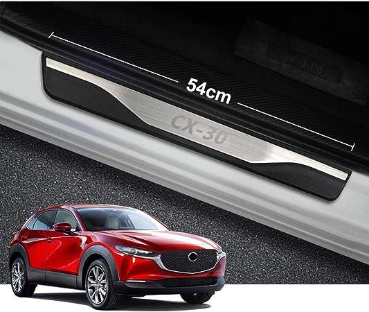 Anifm Auto Styling Edelstahl Einstiegsleisten Verschleißplatte Autozubehör Für Mazda Cx 30 Cx30 Cx 30 2019 2020 Küche Haushalt