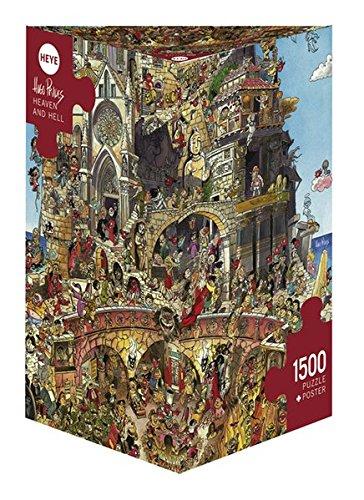 4 opinioni per Heye 29118- Paradiso e Inferno, Puzzle 1500 Pezzi, Multicolore