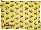 Pillowcase Bobs Burgers Burgers Scattered Yellow Standard