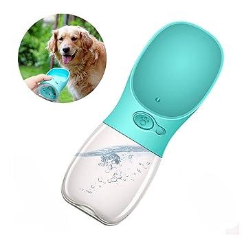 Botella de Agua para Perros Mascotas Gatos Dispensador de Agua Taza de Agua Botella para Beber