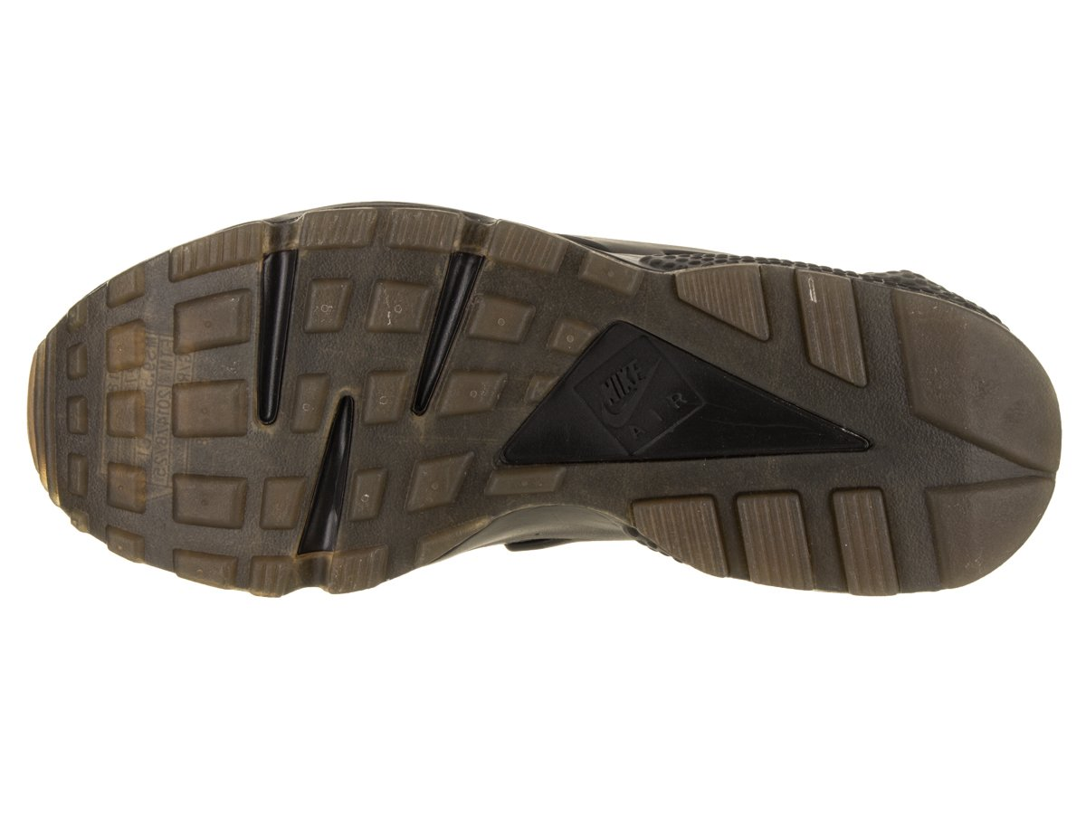 NIKE Men's Air Huarache Running Shoes B078P1TPMH 11.5 D(M) US|Lack/Elemental Gold-gum Medium Brown
