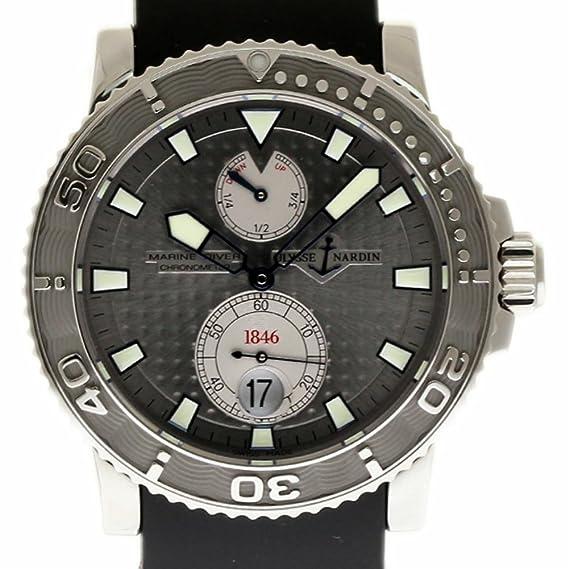 Ulysse Nardin Marine swiss-automatic Mens Reloj 263 – 33 – 3/91 (