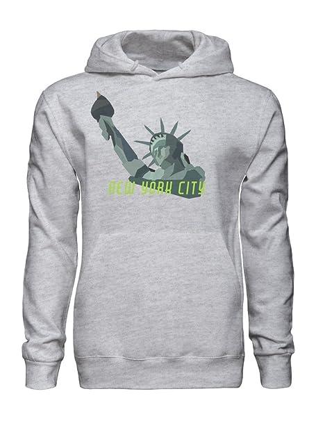 New York City Symbol Statue Of Liberty Sudadera con Capucha para Hombre XX-Large: Amazon.es: Ropa y accesorios