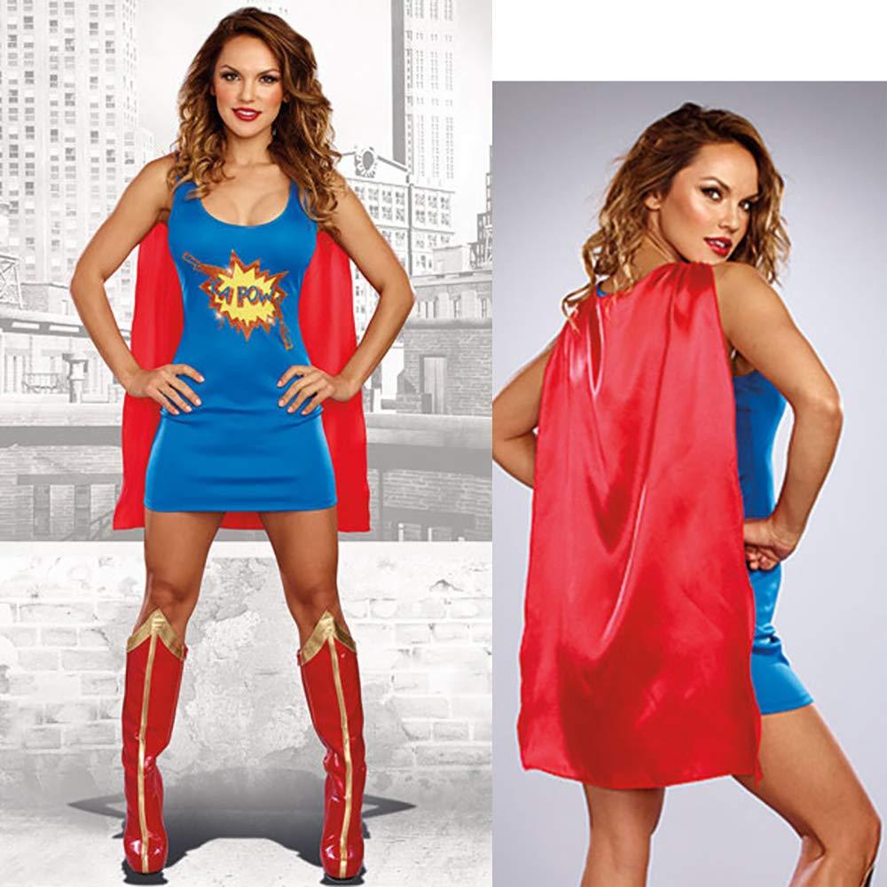 GAOJUAN Nuevo Disfraz De Halloween Disfraz De Traje De Superwoman ...
