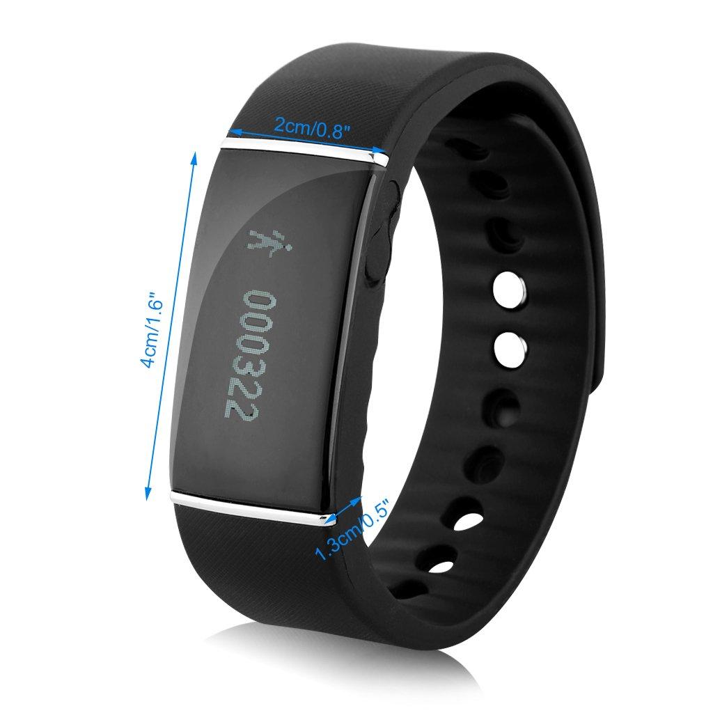 Diggro S55 Oled Smartwatch Bluetooth (Impermeable Ip67, Snyc Mensaje Llamadas, Podómetro, Monitor de Sueño, Control remoto de Cámara, Compatible con ...