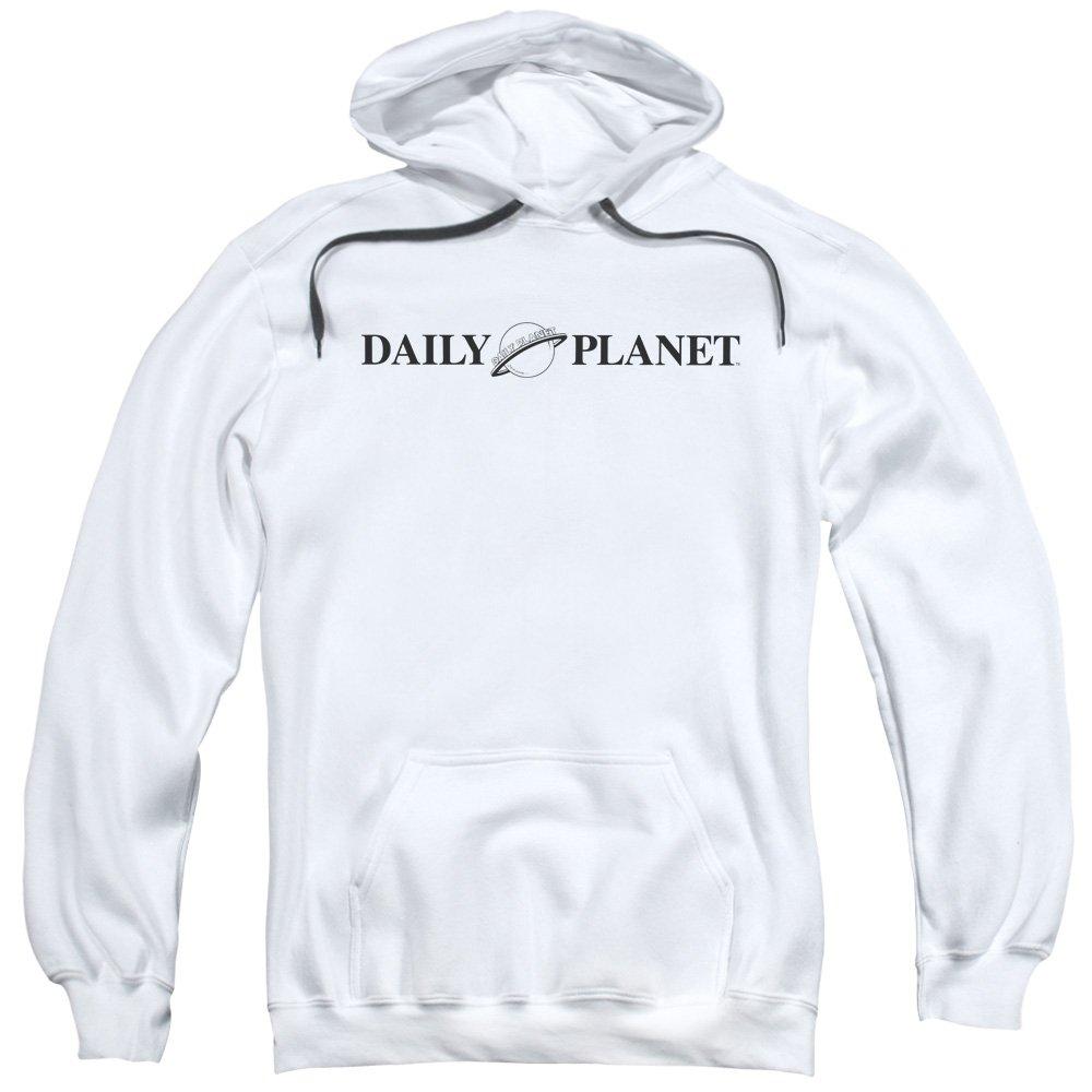 Superman Männer Daily Planet Logo Pullover Kapuzenpullover