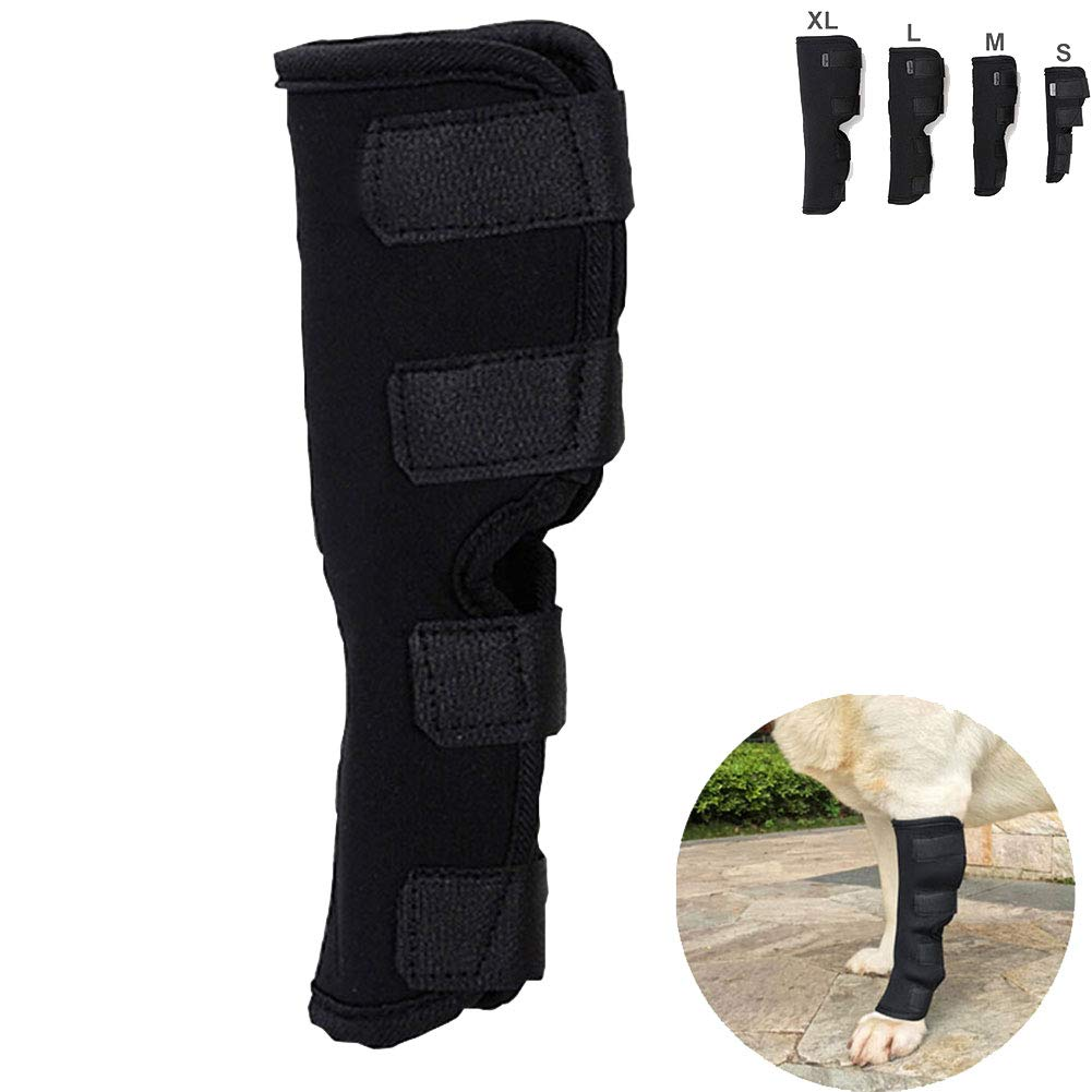 Canine Leg Joint Sleeve,Pet Elbow Pads Elbow Predector Dog Leg Support Suitable for Dog Recovery to Predect Wound Support Treatment and Prevent Injuries and Sprains.