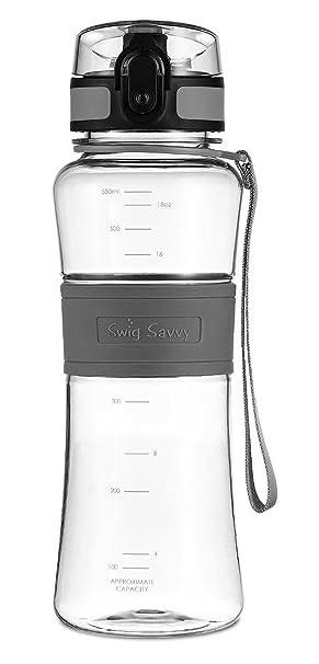 SWIG SAVVY Botella de Agua de Triton, Amigable con el Ambiente Y ...
