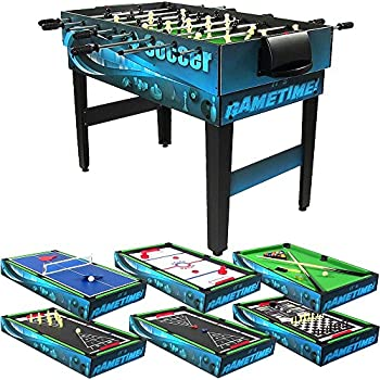 Bon Sunnydaze Decor 10 Combination Multi Game Table With Billiards, Push  Hockey, Foosball, Ping Pong, And More, 40 Inch